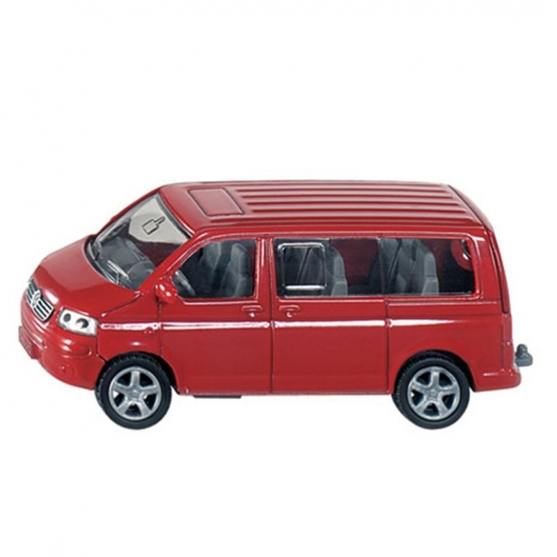 Image of Kinderspeelgoed rode VW transporter
