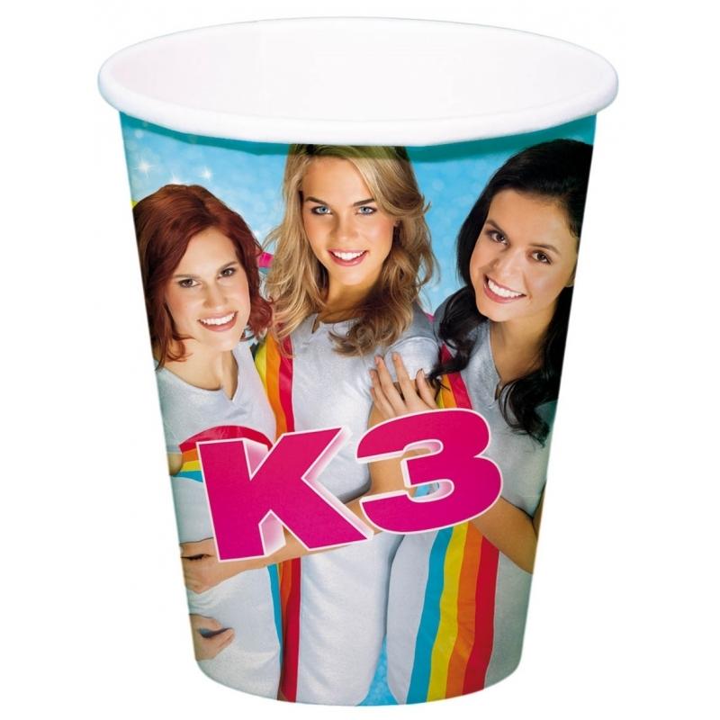 Image of Kinderverjaardag drinkbekers K3