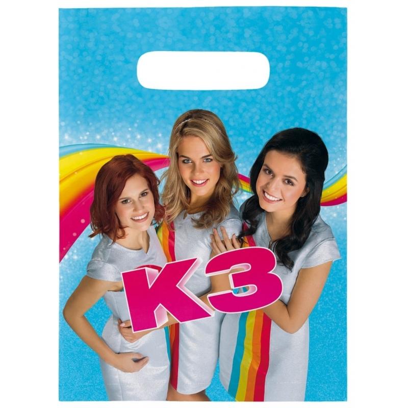 Image of Kinderverjaardag feestzakje K3 8 stuks