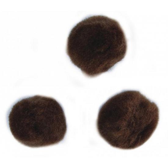 Image of Kleine bruine bolletjes 15 mm