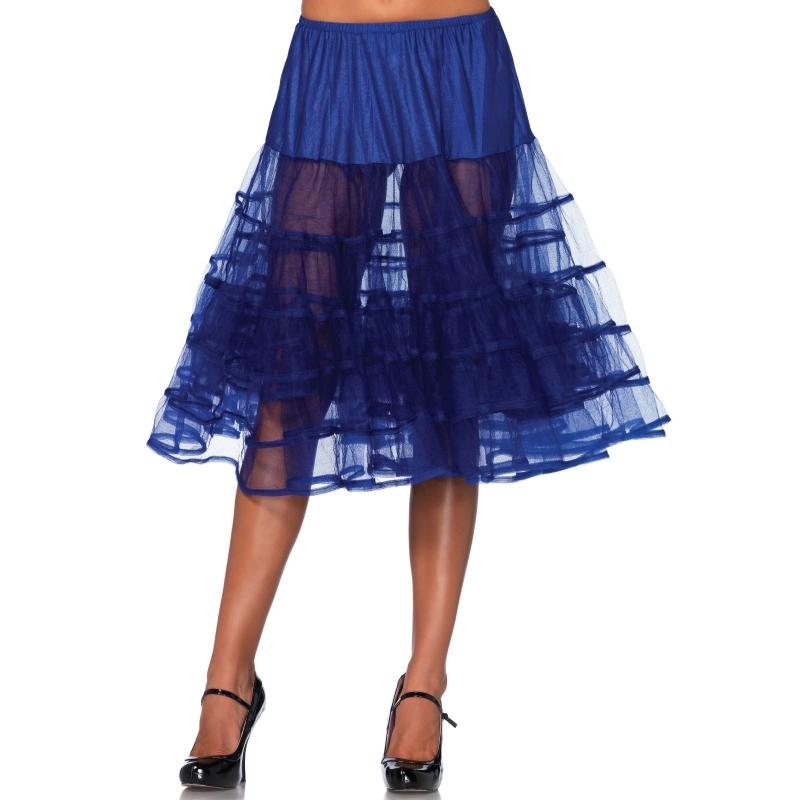 Image of Kobalt jaren 50 petticoat voor dames