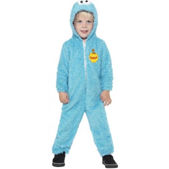 Image of Koekiemonster blauw jumpsuit voor kinderen