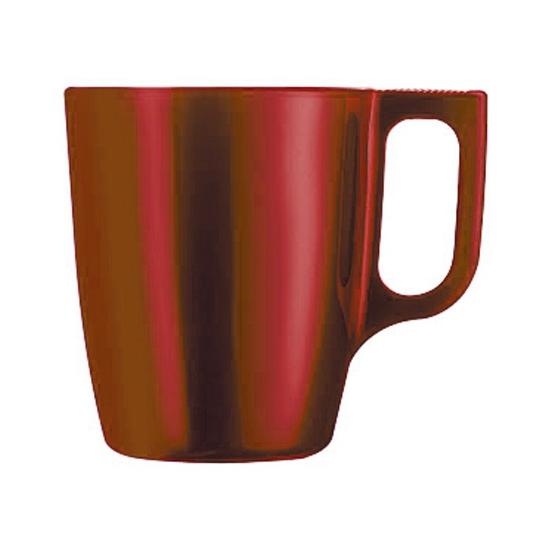 Image of Koffie beker rood