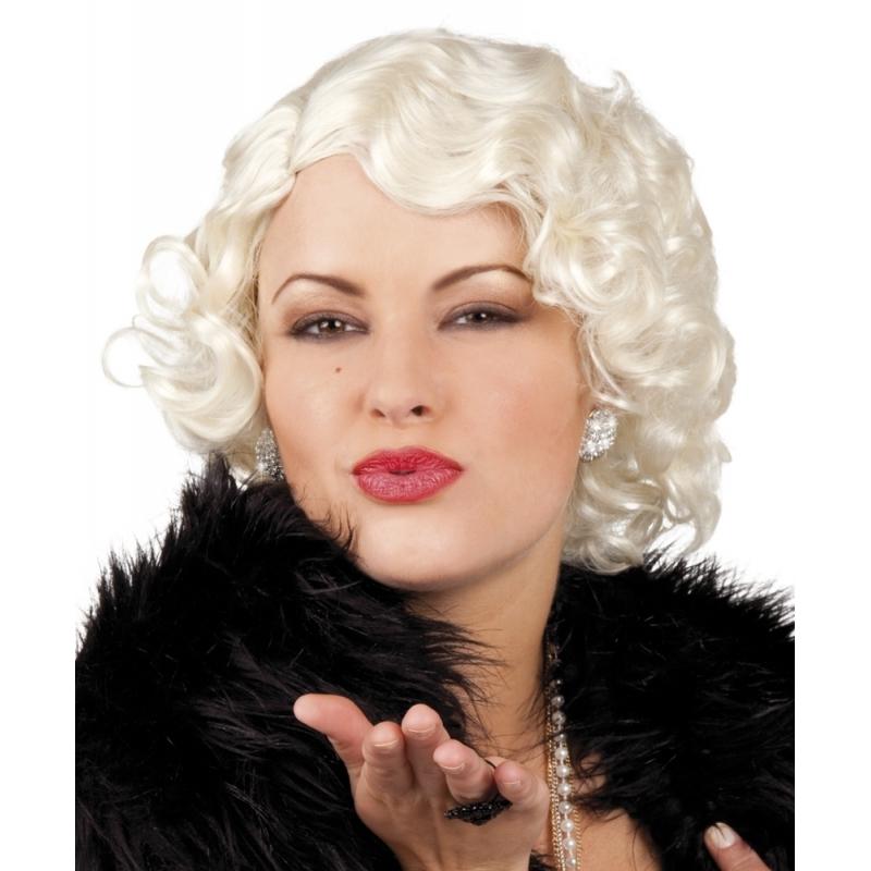 Image of Korte blonde puik jaren 60 voor dames