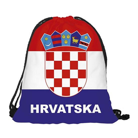 Image of Kroatie rugtas met rijgkoord