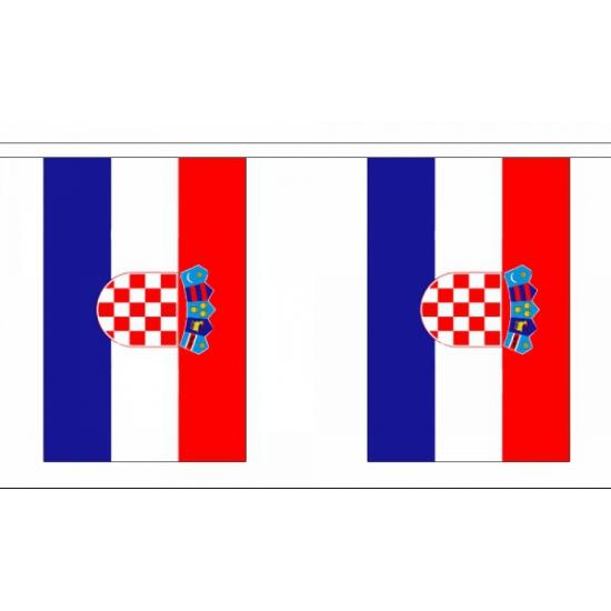Kroatische vlaggenlijn deluxe