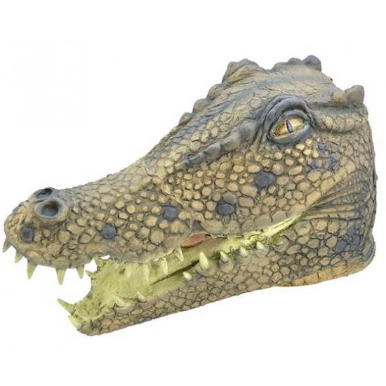 Krokodillen kop masker voor volwassenen