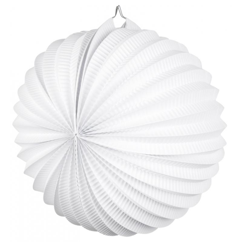 Image of Lampionnen wit 22 cm