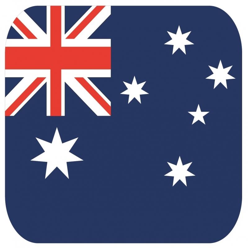 Image of Landen bierviltjes Australie 15 st