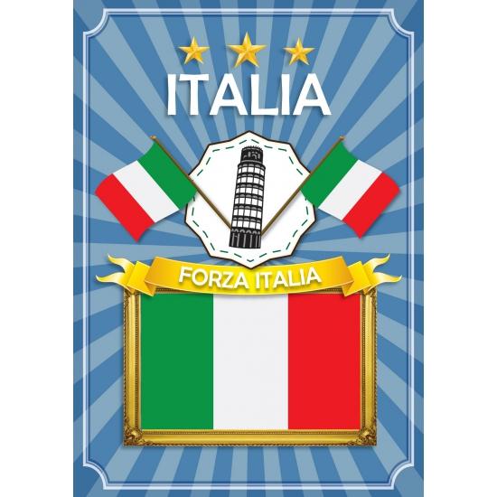 Image of Landen poster Italia