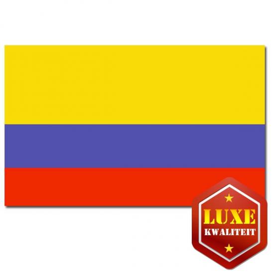 Landen vlaggen Colombia