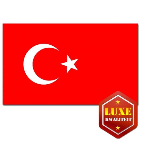 Landen vlaggen van Turkije
