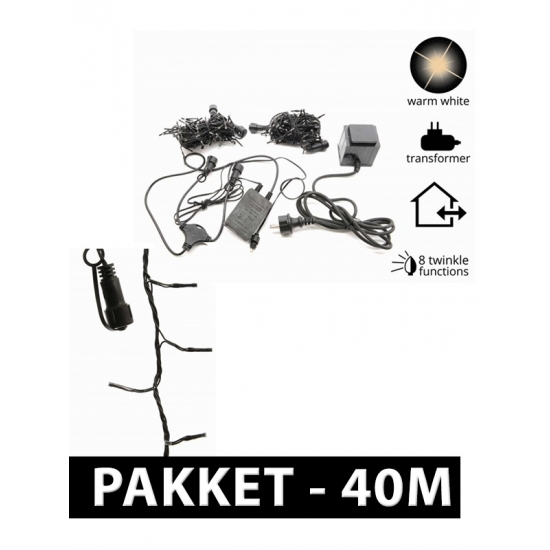 Image of LED connect kerstverlichting pakket 40 m