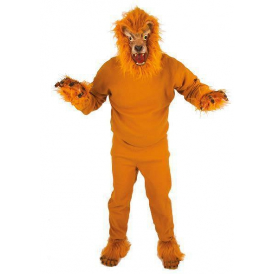 Image of Leeuwen outfit volwassenen