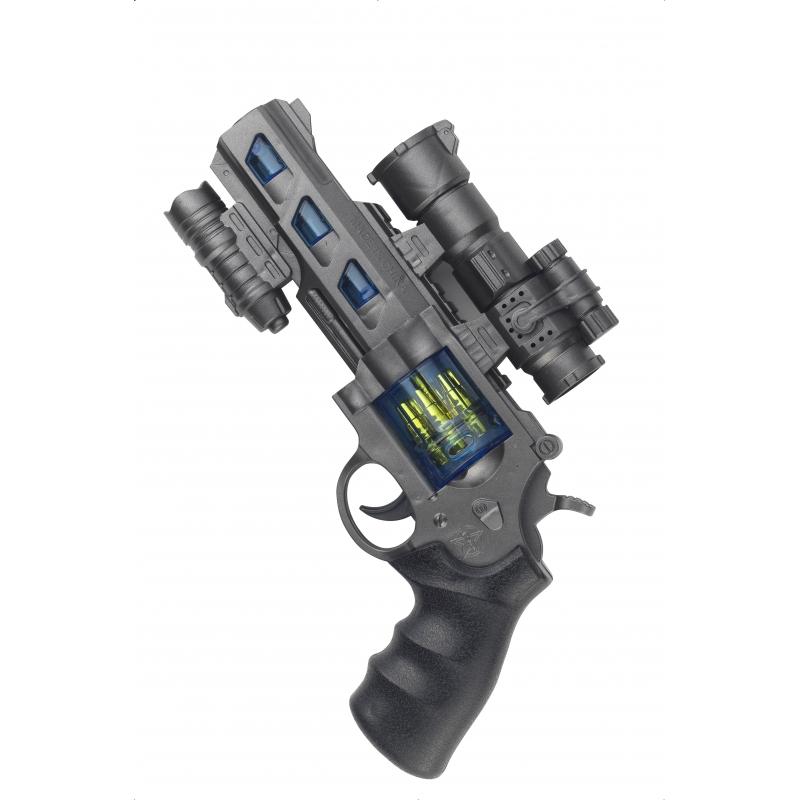Image of Lichtgelevend ruimte pistool met geluid