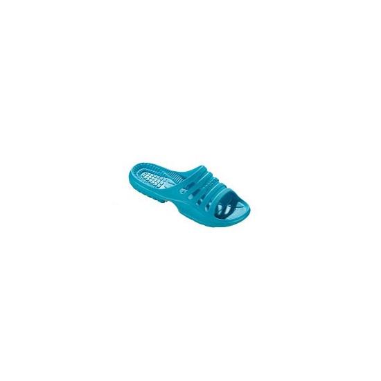 Image of Lichtgewicht instap slippers aqua voor dames