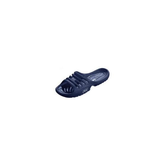 Image of Lichtgewicht instap slippers marineblauw voor dames