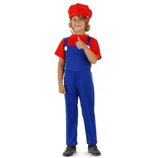 Image of Loodgieter kostuum rood voor jongens