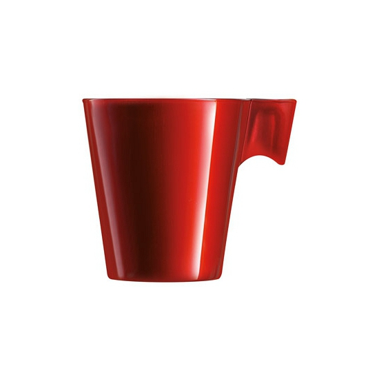 Image of Lungo beker rood