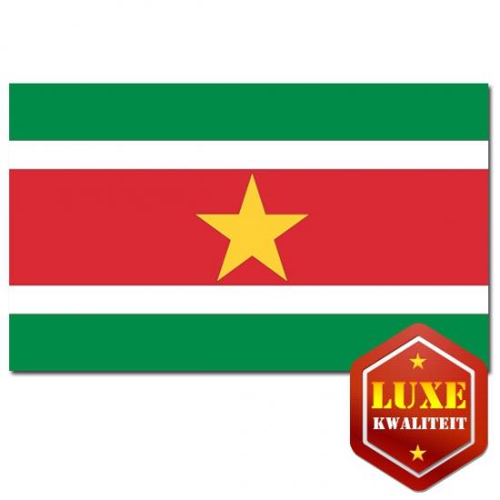 Luxe Surinaamse vlaggen