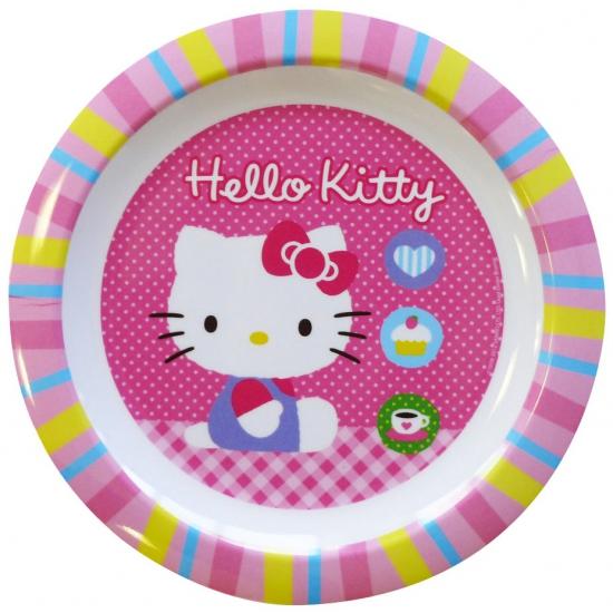 Image of Magnetronbestendig Hello Kitty ontbijtbord