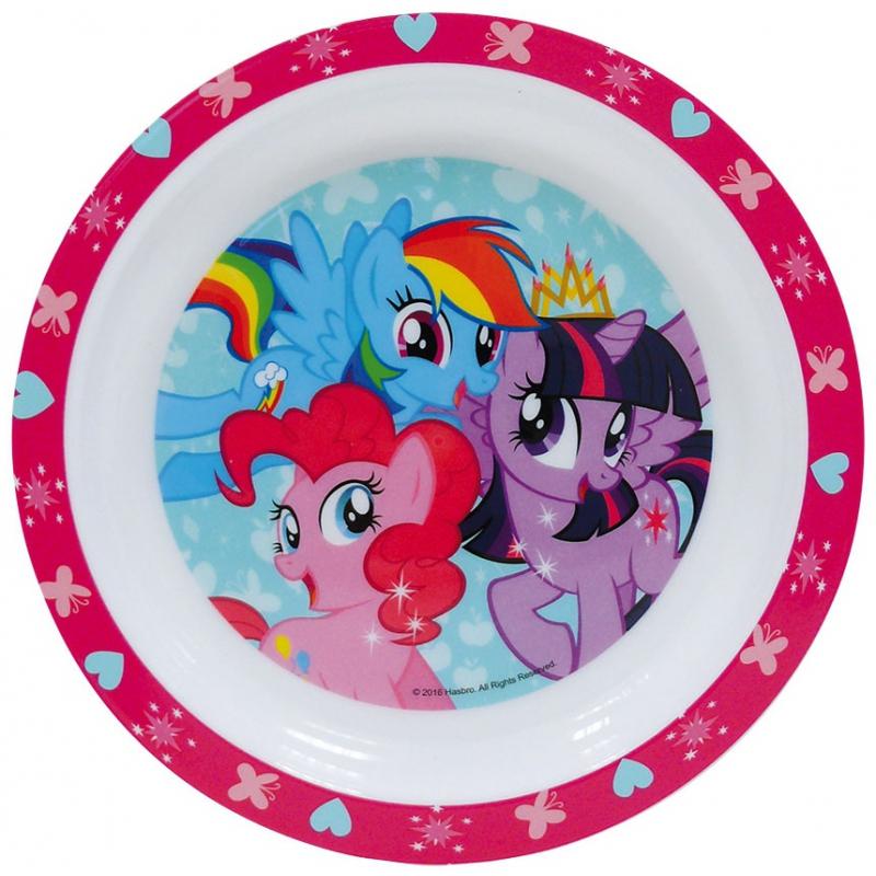 Image of Magnetronbestendig My Little Pony ontbijtbord