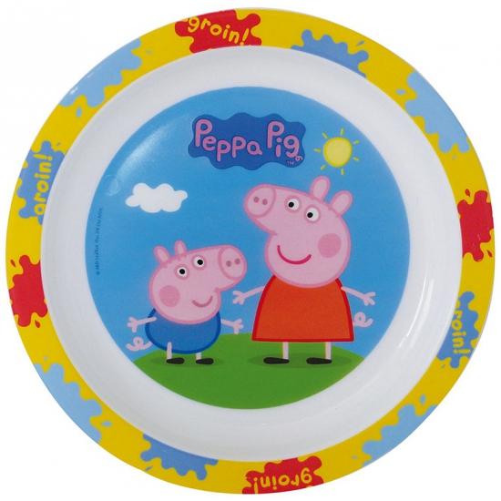 Image of Magnetronbestendig Peppa Big ontbijtbord