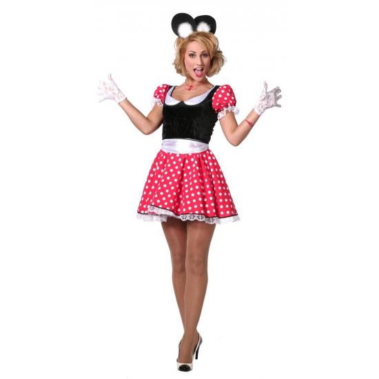 Image of Mamma Mouse verkleedoufit voor dames