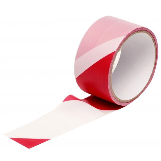 Markeerlint roodwit 25m