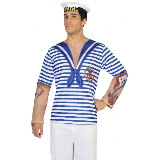 Image of Matrozen carnavalspak t-shirt
