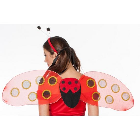 Image of Meiden lieveheersbeestje vleugels