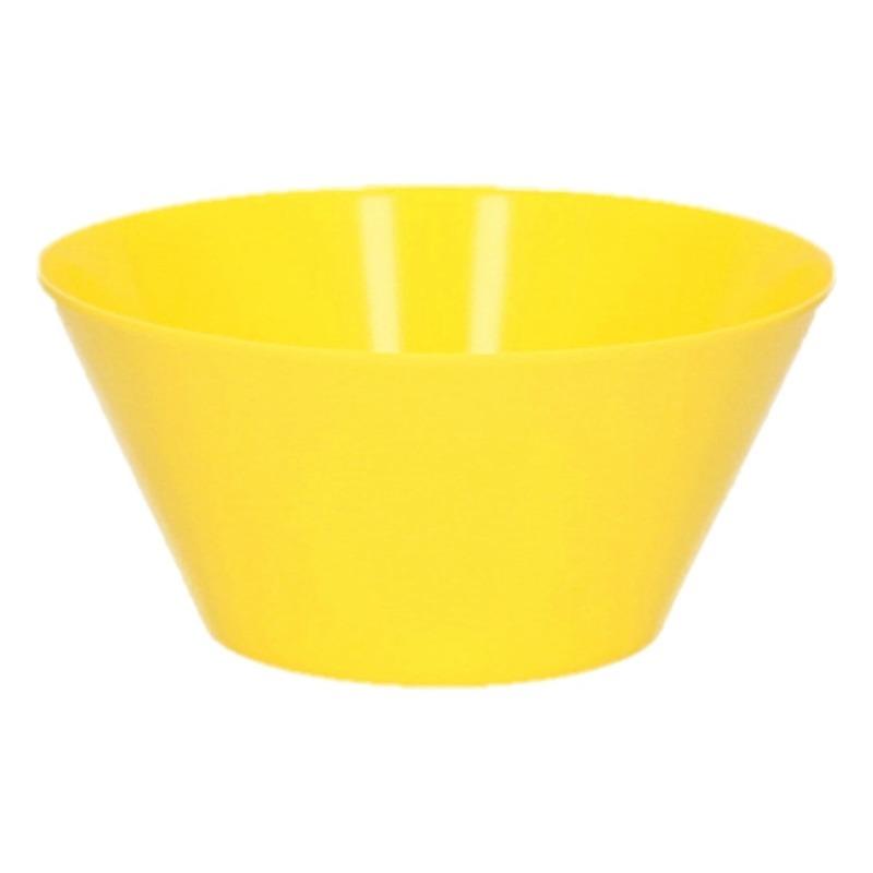 Image of Melamine schaal geel 14 cm