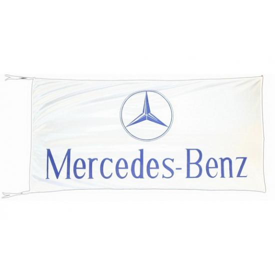 Image of Mercedes-Benz vlag 150 x 75 cm