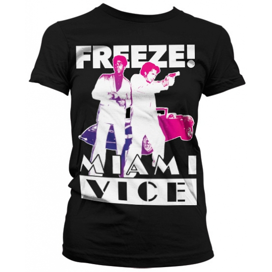 Image of Miami Vice Freeze t-shirt dames