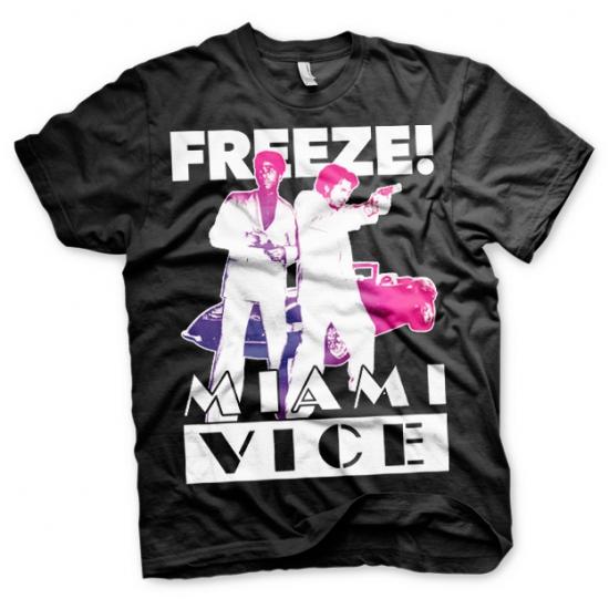 Image of Miami Vice Freeze t-shirt heren