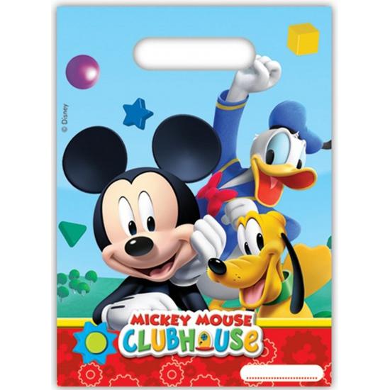 Image of Mickey Mouse plastic uitdeel zakjes