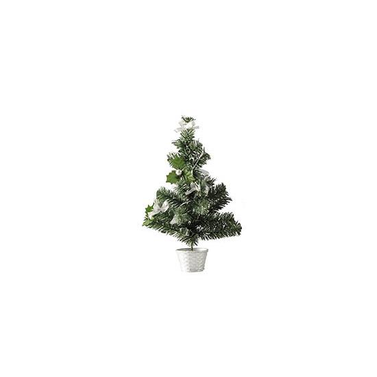Image of Mini kerstboompje zilver 36 cm