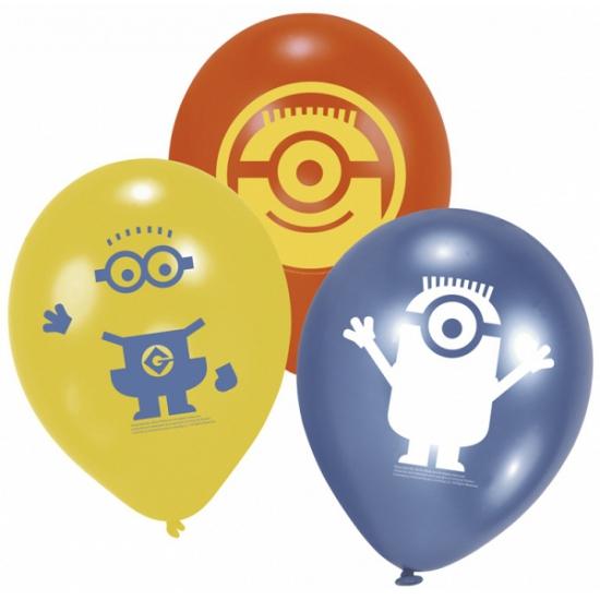 Image of Minions ballonnen 6 stuks