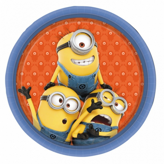 Image of Minions bordjes 23 cm