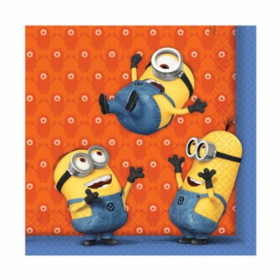Image of Minions servetten 20 stuks