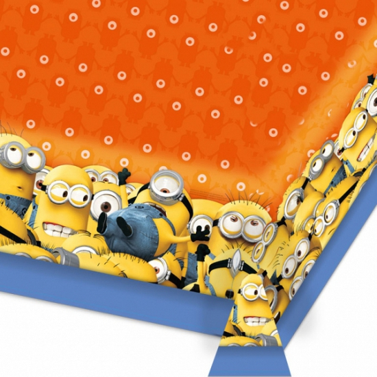 Image of Minions tafelkleed 180 cm