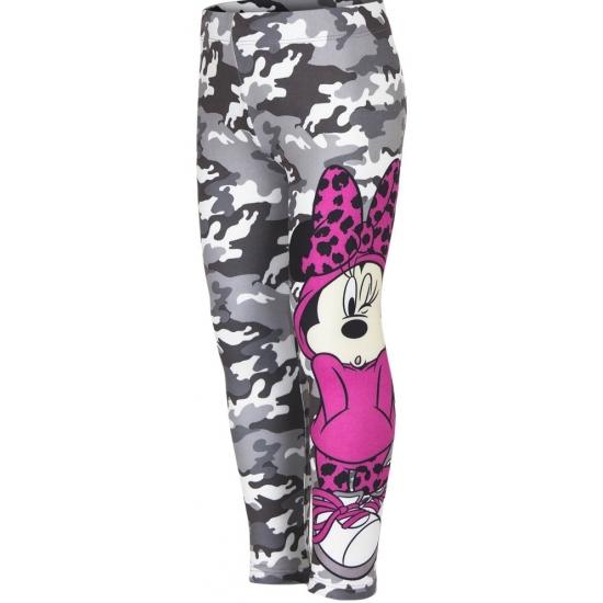 Minnie Mouse legging grijs voor meisjes