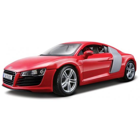 Image of Modelauto Audi R8 rood