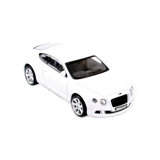 Image of Modelauto Bentley Continental GT die cast wit