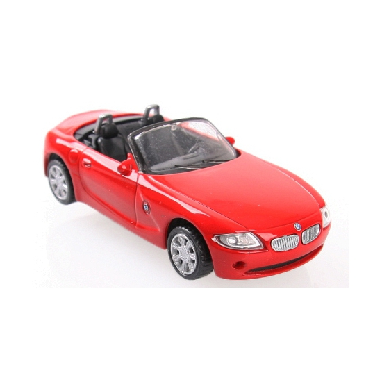 Image of Modelauto BMW Z4 die cast rood
