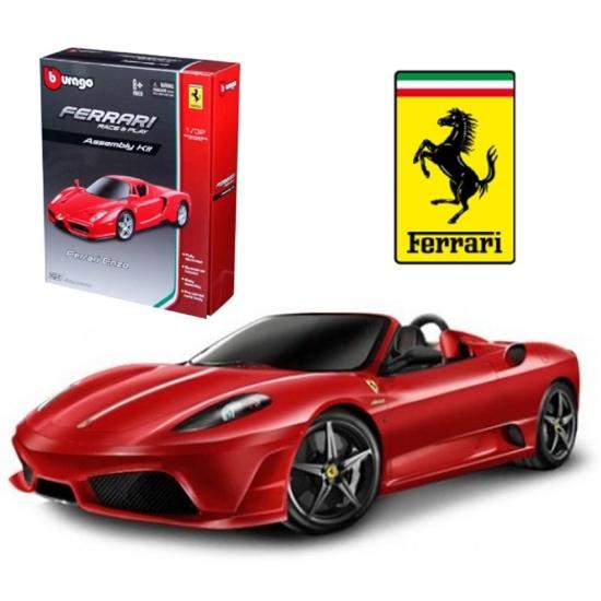 Image of Modelauto bouw kit Ferrari Scuderia Spider 16M