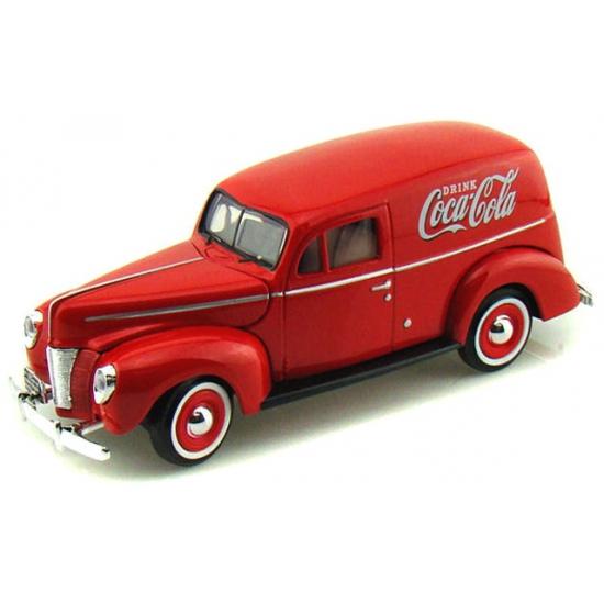 Modelauto Ford bestelwagen Coca Cola 1940