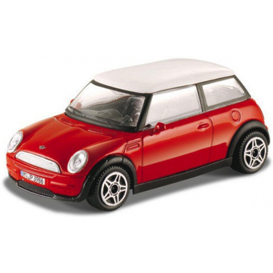 Image of Modelauto Mini Cooper rood 1:43