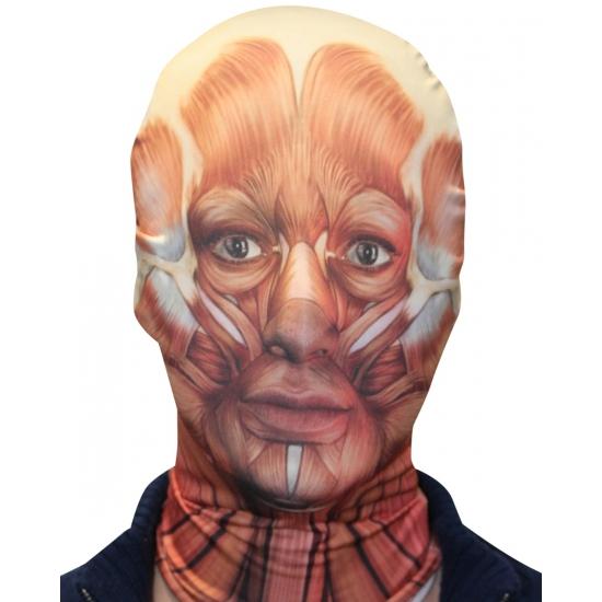 Image of Morphsuit masker binnenstebuiten gezicht