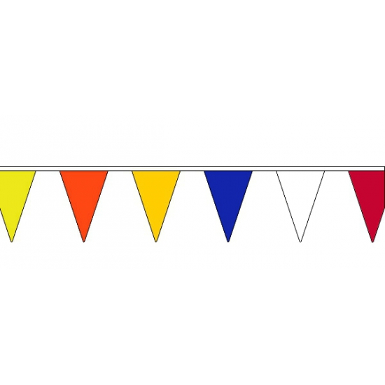 Image of Multi colour vlaggenlijn 13 meter